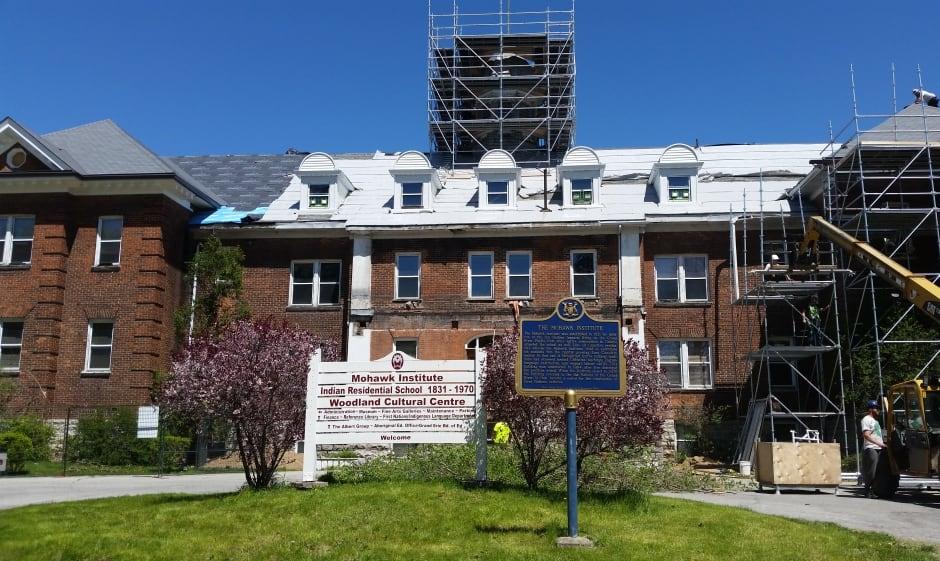 Mohawk Institute front