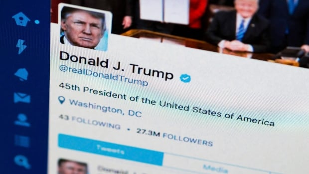 U.S. President Donald Trump's @realdonaldtrump Twitter account was deactivated by a Twitter employee on Thursday.