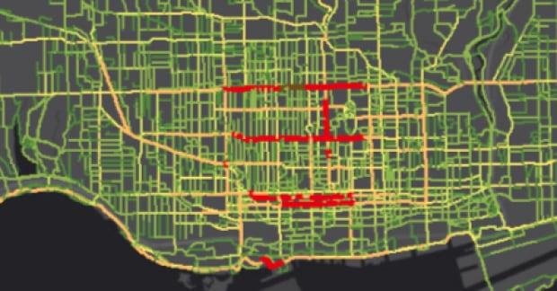 Toronto Biko Heat Map