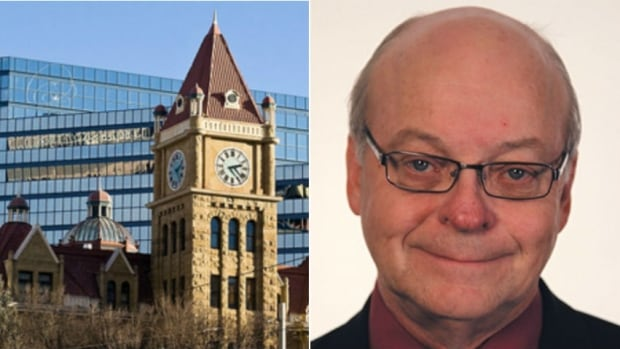 Larry Heather is running for mayor in Calgary.