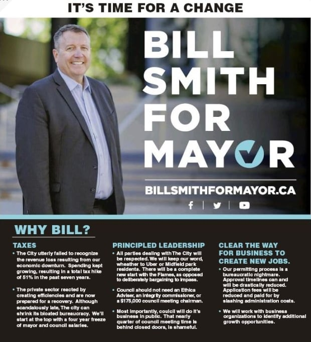 Bill Smith for Mayor ad