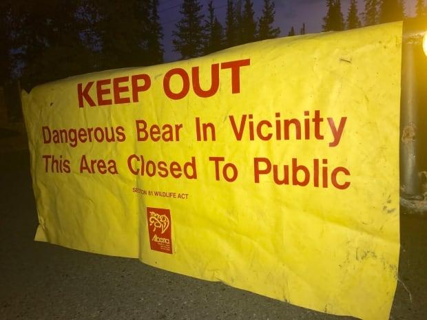 Griffith Woods Park bear closure