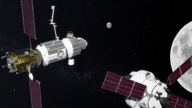 NASA has previously described Deep Space Gateway as a crew-tended spaceport orbiting the moon that would include a habitat for astronauts and docking facilities for spacecraft.