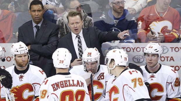 Glen Gulutzan enters his second year as coach of the Calgary Flames.