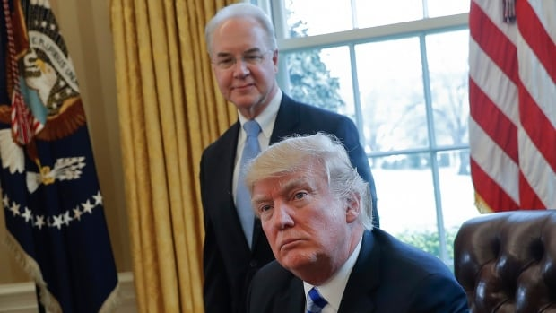 Tom Price, U.S. President Donald Trump's health secretary, resigned Friday after his costly travel triggered investigations that overshadowed the administration's agenda and angered his boss.