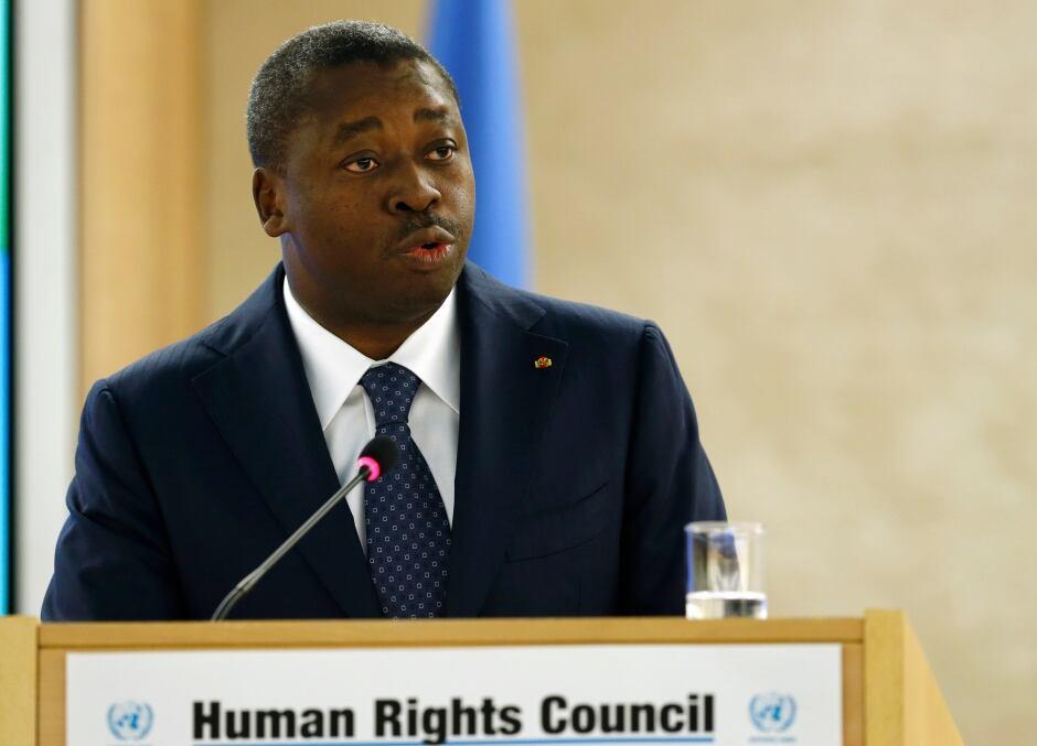 UN-RIGHTS/Gnassingbe