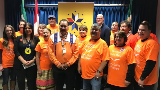 In the lead up to Orange Shirt Day at the end of the month, residential school survivors shared stories at a news conference held Wednesday.