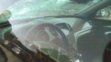 Desjardins car interior