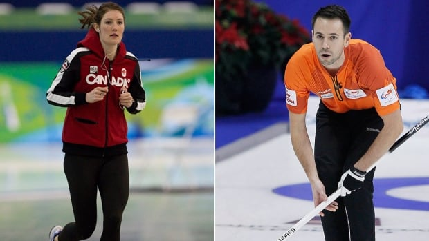 For former speed skater Anastasia Bucsis, left, and curler John Epping, right, there remains an additional consideration that demonstrates sport still has ground to cover when it comes to inclusivity.