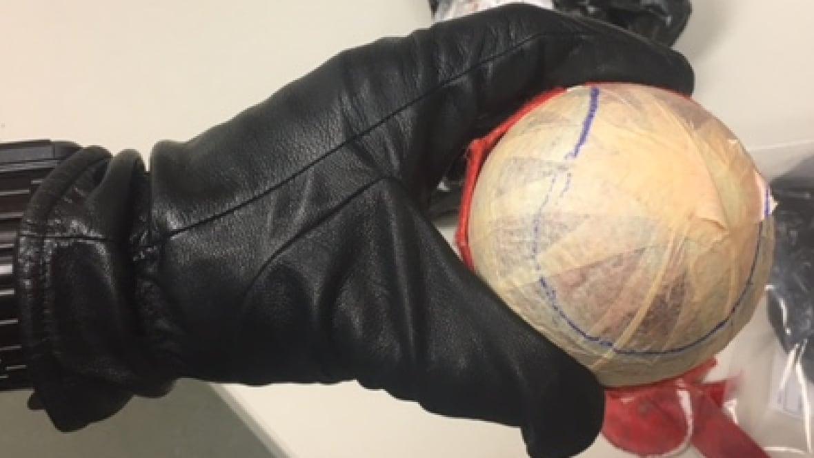 Opium in tennis balls