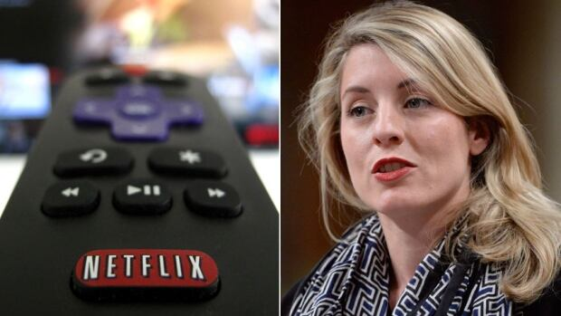 Netflix and Melanie Joly