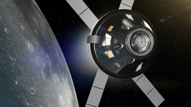 NASA has plans to use the Orion spacecraft, seen here in an artist's concept, to reach the moon by the 2020s.