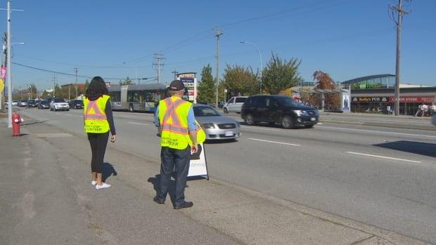 Distracted driving volunteers