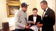 David Litt, Keegan Michael Key and Barack Obama