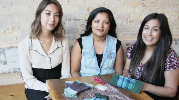 Kim Trinh, Shamim Damji and her sister-in-law Alysha Damji are going to India to distribute reusable feminine hygiene kits to girls in an orphanage and girls from rural communities.