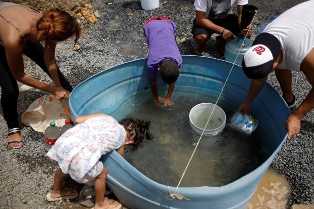 STORM-MARIA/PUERTORICO-WATER