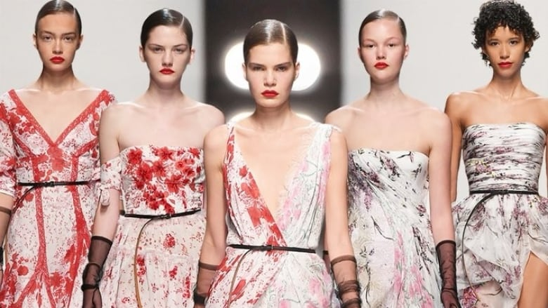 dc807ee10 Amped-up classic beauty was the message at Milan Fashion Week | CBC Life
