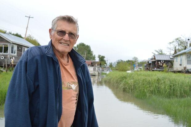 Gus Jacobson, in Finn Slough BC