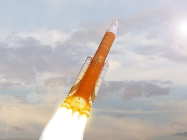 SLS NASA rocket