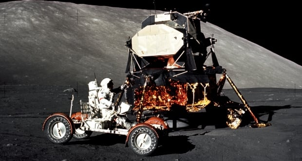 NASA Apollo 17 Cernan moon