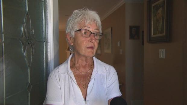 Ethel Manns, neighbour of Claudette Charron in Limoges, Ontario