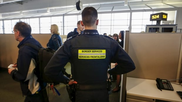 A CBSA official says Canadians 'should not fear carrying their electronic devices across the border,' but if travellers have any information they want to keep private, they shouldn't store it on their devices.