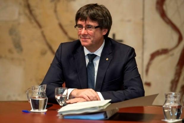 Carles Puigdemont AFP_SR9TW