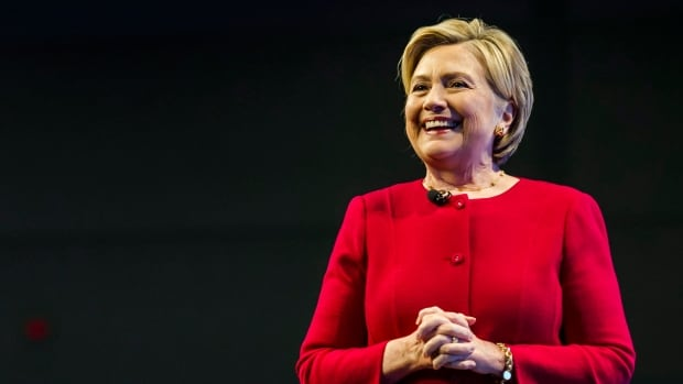 Hillary Clinton spoke to an audience in Toronto Thursday promoting her new book, What Happened. She said democracy is under assault around the world.