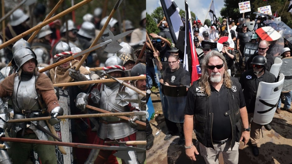 White supremacists have adopted medieval imagery and medieval scholars are fighting back.