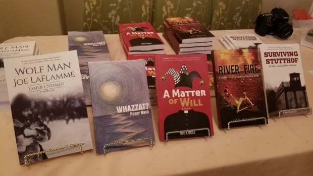 Five new books were recently published by Latitude 46 Publishing in Sudbury.