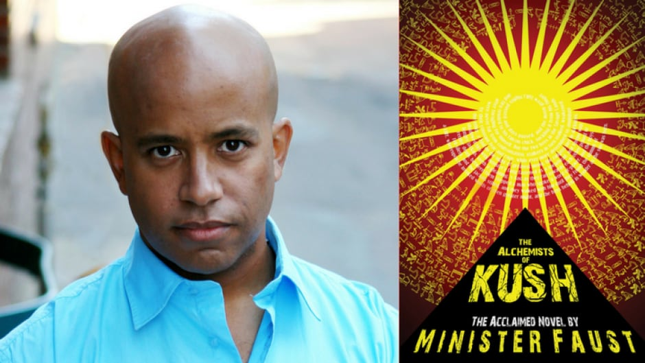 Minister Faust is the author of The Alchemists of Kush.