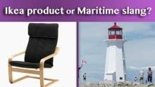 Ikea product or Maritime slang