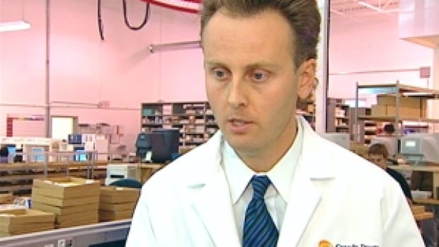 The College of Pharmacists of Manitoba informed pharmacy managers of the immediate suspension of Kristjan Thorkelson Friday in a letter obtained by CBC News.