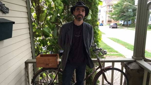 Brian Branch is an avid cyclist and came up with a way to track where bikes are being stolen in Moncton.