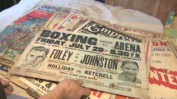 Canadian boxers Jackie Johnston and Vic Foley sparred several times in the 1920s.