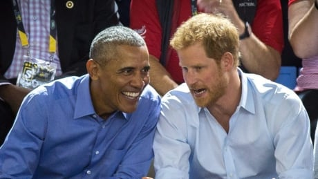 When Prince Harry met Obama for Q&A: Palace releases preview of interview warmup