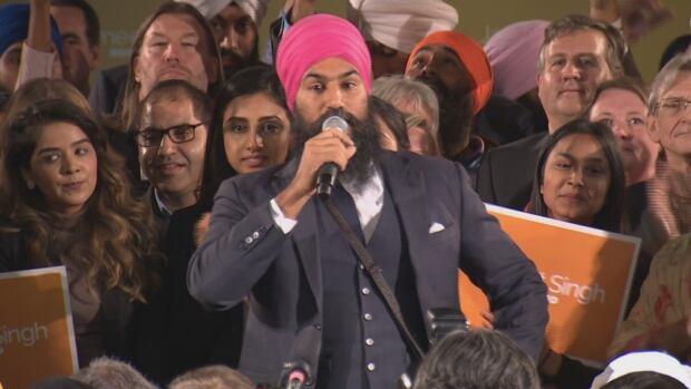 Jagmeet Singh named federal NDP leader