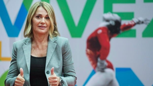 Nadia Comaneci is a spokesperson for the 47th FIG Artistic Gymnastics World Championship which begin this week in Montreal.