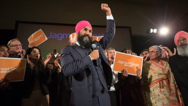 Jagmeet Singh won on the first ballot of the NDP leadership, only the third NDP leader to do so after Tommy Douglas and Jack Layton.