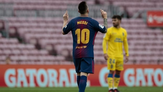 FC Barcelona played in an empty Camp Nou on Sunday amid the controversial referendum on Catalonia's independence.