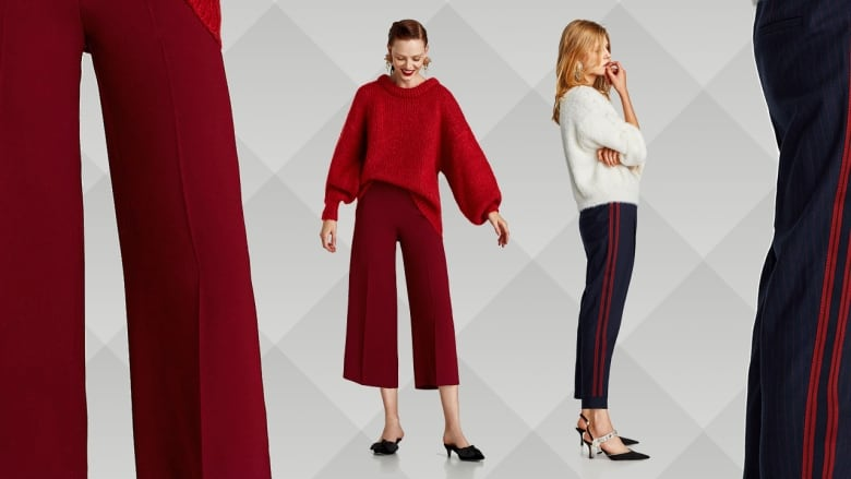 5d1fb964 4 Fall pant trends we're jumping into both legs at a time | CBC Life
