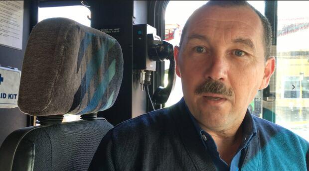 Frank Palin Bus 51 driver