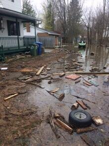 Luskville flooding