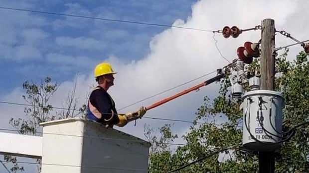 K-Line Construction crews spent three weeks working to restore power in Florida after Hurricane Irma.