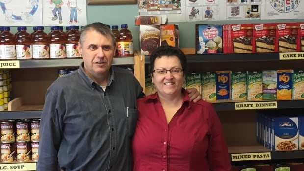 Frank and Vivian Dourte are the new volunteer co-ordinators of the Southern Kings and Queens Food Bank in Montague.