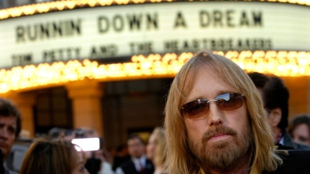 Tom Petty arrives at the world premiere of the documentary Runnin' Down a Dream: Tom Petty and the Heartbreakers in Burbank, Calif., in 2007. Petty has died at age 66.