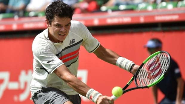 Milos Raonic won in his return to action on Tuesday, and took a few parting shots at the ATP following his match.