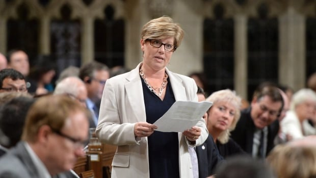 Conservative MP Karen Vecchio, seen here in during question period in September 2016, says she faced harassment on Parliament Hill, but is satisfied with the outcome of a mediation process.
