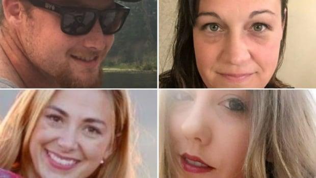 4 victim collage
