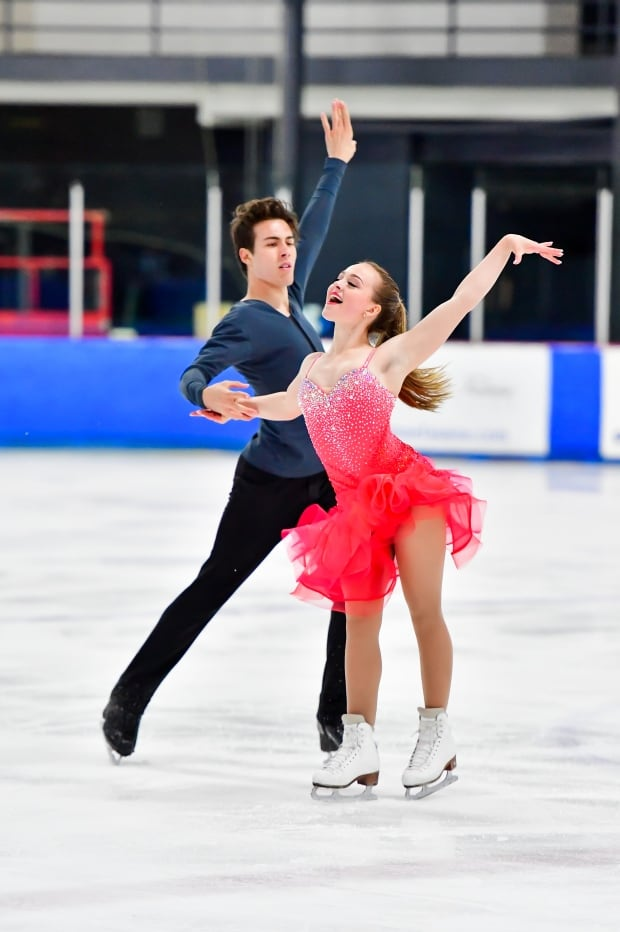 Ellie Fisher and Simon-Pierre Malette-Paquette